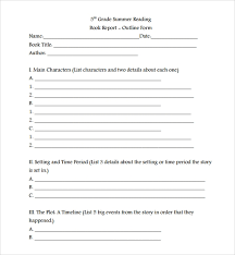Book Report Template Free 8 Sample Book Report Templates In Google Docs Ms