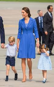 Blue Coat The Meaning Behind The Duchess Of Cambridges New Prussian Blue Coat