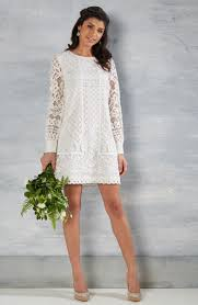 Simple White Dress For Civil Wedding Uk