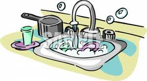 dishes in sink clipart. Contemporary Dishes Clean Sink Clipart  ClipartFest Inside Dishes In Sink Clipart