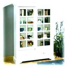 ikea bookcase with glass doors white billy bookshelf doo