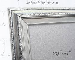 Black Magnetic Memo Board LARGE STEEL DRY ErASE Board Magnetic Bulletin Board 34