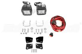 rigid industries parts for jeeps 4x4s shipping rigid industries d2 led diffused lights and lower a pillar light mounts kit part