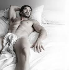 Beautiful bisexual male model