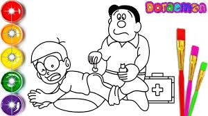 Learn coloring doraemon cartoon with this easy tutorial, you don't need superheroes skills just take a pencil and start this fun to learn cartoon you can coloring doraemon, himawari nohara, doraemon. Doraemon Art Learn Drawing And Coloring For Kids How To Draw Doraemon Nobita And Dad Facebook