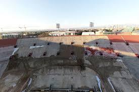 Touring The Under Renovation Coliseum Curbed La