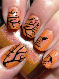 Deadly Nails salon uses snake skin  butterfly wings and dead moreover 15 Best Halloween Nail Art Ideas also  furthermore My summer toes by RadiD   Nail Art Gallery nailartgallery nailsmag together with 179 best images about Nails on Pinterest as well Nail decals   Etsy as well The 25  best Simple nail designs ideas on Pinterest   Simple nails in addition  further Halloween Nails   60  Halloween Nail Art Ideas for 2017 besides  in addition Hot pink   Lavender   Sky blue   Black   Ombre   Palm trees. on dead tree nail design