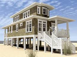 Awesome Narrow Lot Beach House Plans   Narrow Lot Beach House        Beautiful Narrow Lot Beach House Plans   Narrow Lot Beach House Plans On Pilings