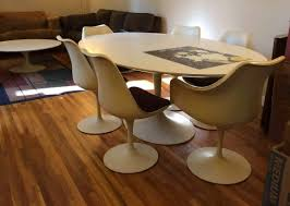 tulip table and chairs. Help For Classic Saarinen Knoll Tulip Tables And Chair Restoration (c. 1960) Table Chairs N