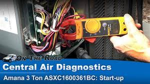 Central Air Conditioner Start Up Compressor Amperage 1