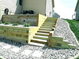 build a wooden retaining wall retaining wall wooden cost to build retaining wall wooden retaining wall