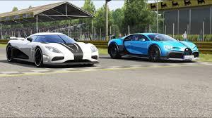 2018 bugatti chiron vs 2015 koenigsegg one:1 in a standing one mile drag race in forza motorsport 7! Bugatti Chiron Vs Koenigsegg Agera Page 1 Line 17qq Com