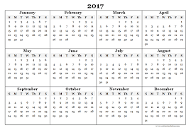 yearly calendar 2017 template 2017 blank yearly calendar template free printable templates