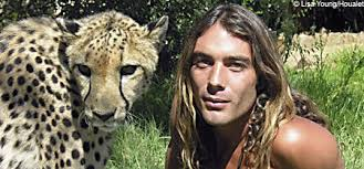 Now the classic black-and-white tale has been given a 21st century twist thanks to naturalist Olivier Houalet and his brood of orphaned cheetahs. - tarzan2amani_450x210