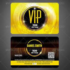 23 Famous Vip Card Templates Free Premium Download