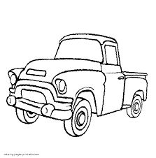 Pickup truck drawing at getdrawings free for personal use pickup truck drawing 21 pickup truck drawing coloring pages pinterest chevrolet ute