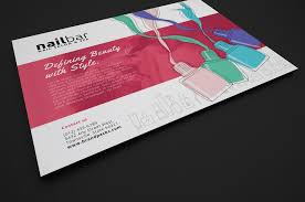 nail salon flyer template for photoshop illustrator brandpacks nail salon flyer template