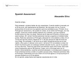 spanish essay on holidays international baccalaureate languages document image preview