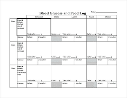 Sample Food Logs Daily Food Diary Free Printable Keep On Track And