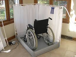 next day access offers a convenient fold away portable shower for individuals with diities who find that traditional bathing facilities are difficult