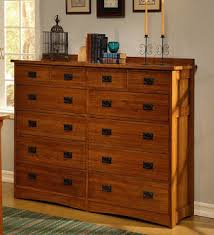Mission Style Wooden Chest In A Bedroom