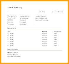 Microsoft Word Meeting Agenda Template Fascinating Temp This Team Meeting Agenda Template Education Weekly Samples