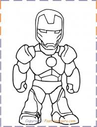 Ironman coloring pages are the best way to teach your child to differentiate between good and evil. Iron Man Baby Coloring Pages Free Kids Coloring Pages Printable