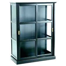 tall black bookcase estate with doors throughout bookshelf ikea glass good bookcases billy narrow es
