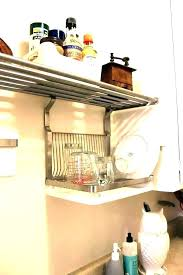 wall mounted dish drying rack over the sink dish drying rack hanging dish rack wall mount