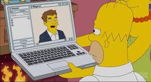 Kuvahaun tulos haulle homer simpson computer
