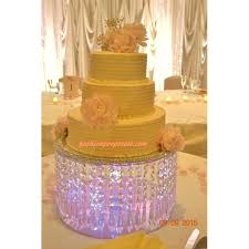 chandelier cake stand crystal wedding with crystals waterfall cascade stunning crysta chandelier cake stand