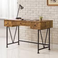 coaster furniture antique nutmeg writing desk with v shaped legs com