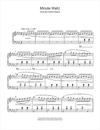 chopin spring waltz sheet music minute waltz in d flat major op 64 no 1 sheet music by frederic