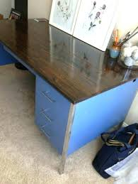old metal desk metal desk drawers this is an old metal teachers desk my friend refinished old metal desk