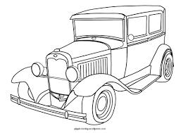Coloring page fast and furious coloring pages old timer page cars