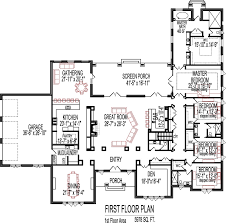 Craftsman Style House Plan  3 Beds 250 Baths 2091 SqFt Plan 2200 Square Foot House Plans