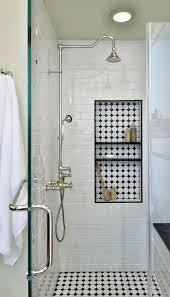 modern shower tile.  Tile Modern Parquet Inlaid Shelving Unit And Shower Tile L