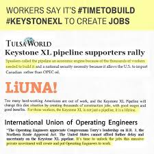 "How To Call Out Of Work Impressive American Workers Call Keystone XL An ""Economic Engine"" That Will"