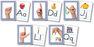 Alphabet Card Featured Activity Kit American Sign Language Alphabet Cards