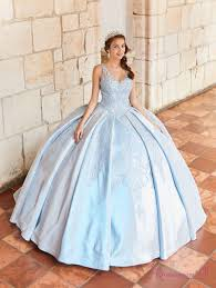 Light Blue Quince Dress Sky Blue Quinceanera Dress Pr21968bl
