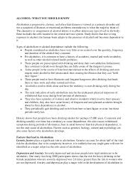 essay on the effects of alcohol abuse  effects of alcohol essays and papers 123helpme com