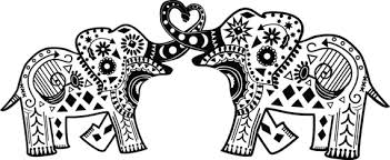 Small Picture Abstract Coloring Pages Elephants Coloring Pages Ideas