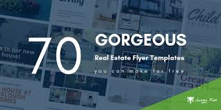 Marketing Flyers Templates 70 Gorgeous Real Estate Flyer Templates You Can Afford