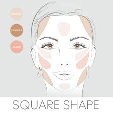 contour highlight blush step by step according to diffe face shapes