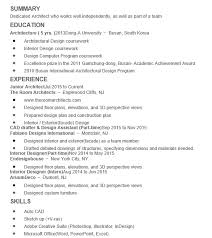 junior architect resume 7 - Junior Interior Designer Resume