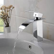 Bathroom Fixtures Moen Elegant Brushed Copper Automatic Bridge Modern  Bathroom Faucets Deck Mounted Lever Pedestal Sinks Bowl Square Concrete  Countertop ...