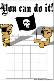 Behavior Charts For Boys Pirates Cool Kindergarten