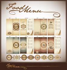 Design A Menu Free Elements Of Food Menu Cover Design Vector 01 Free Download