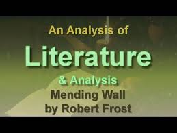analysis of mending wall by robert frost