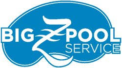 pool service logo. Big Z Pool Service Logo